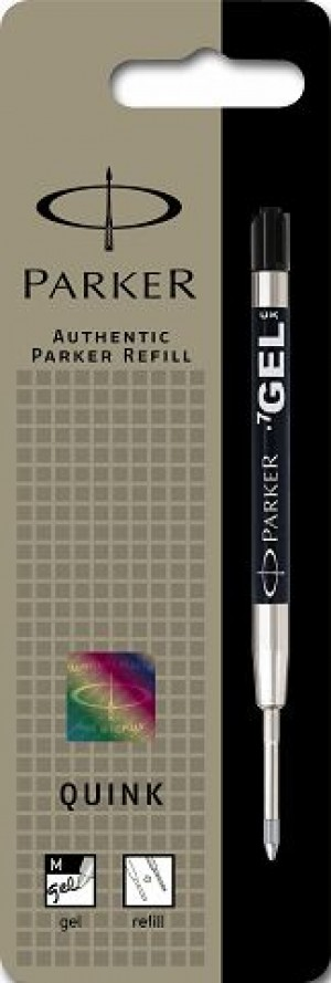 PARKER GENUINE GEL REFILL BLACK (prices excludes gst)