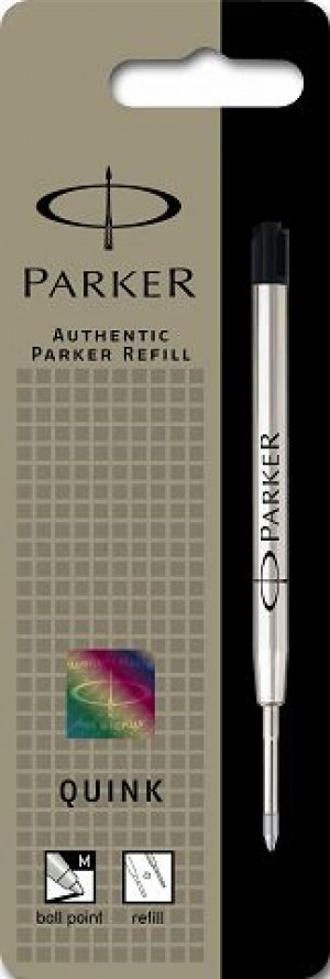 PARKER GENUINE BALLPOINT REFILL MEDIUM BLACK (prices excludes gst)