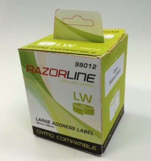 COMPATIBLE DYMO 36mm x 89mm LABELWRITER ADDRESS LABELS Box 2