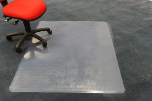 CHAIRMAT MEDIUM PILE H/WEIGHT RECTANGLE 1150mm x 1350mm #AMH-50G (price excludes gst)