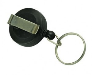RETRACTABLE PLASTIC REEL OSMER WITH KEY RING  (price excludes gst)