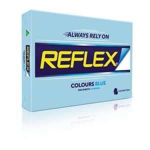 REFLEX COLOURED COPY PAPER A4 BLUE  (price excludes gst)