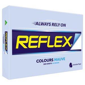 REFLEX COLOURED COPY PAPER A4 MAUVE  (price excludes gst)