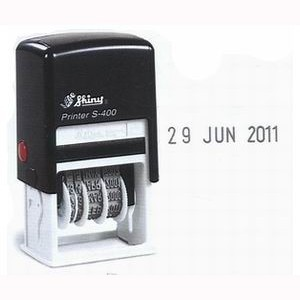 SHINY SELF-INKING DATER S-400 4mm (price excludes gst)