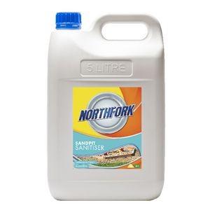 SANDPIT SANITISER 5L NORTHFORK  (price excludes gst)