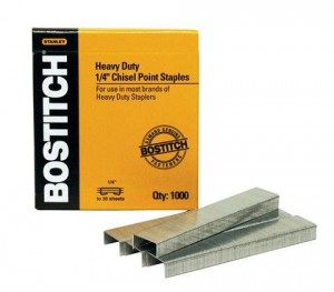 "BOSTITCH STAPLES SB-35 1/4"" (approx 6mm)"