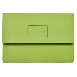DOCUMENT WALLET SLIMPICK FCAP GREEN
