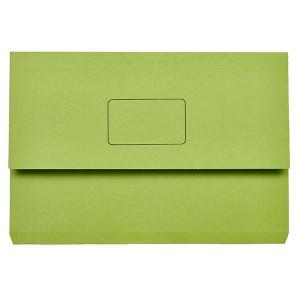 DOCUMENT WALLET SLIMPICK FCAP GREEN BOX 50