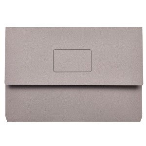 DOCUMENT WALLET SLIMPICK FCAP GREY