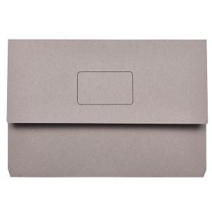 DOCUMENT WALLET SLIMPICK FCAP GREY BOX 50