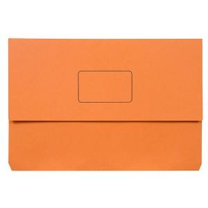 DOCUMENT WALLET SLIMPICK FCAP ORANGE BOX 50