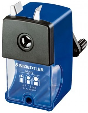 DESK CLAMP ROTARY PENCIL SHARPENER STAEDTLER #501203