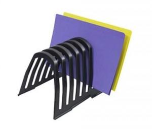 STEP FILE ORGANISER PLASTIC LARGE BLACK