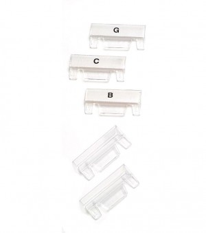 SUSPENSION TABS CLEAR OLD STYLE #111360  (price excludes GST)