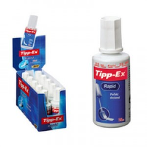 CORRECTION FLUID TIPPEX RAPID Box 10  (price excludes gst)
