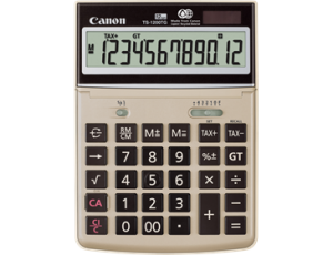 CANON TS-1200TG TAX CALCULATOR (price excludes gst)