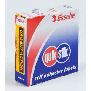 QUIK STIK LABEL URGENT ACTION  (price excludes gst)
