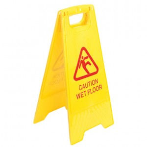 SAFETY SIGN - WET FLOOR i-436WF  (price excludes gst)