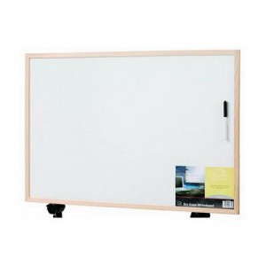 WHITEBOARD ECONOMY (NON-MAGNETIC) 600mm x 400mm  (price excludes gst)