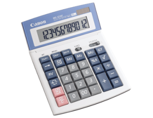 CANON WS-1210T TAX CALCULATOR (price excludes gst)