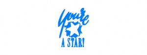 X STAMPER NOVELTY 11438 YOURE A STAR BLUE (price excludes gst)