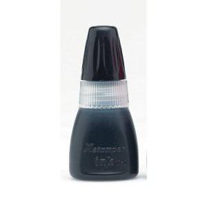 X STAMPER INK 10cc BLACK  (price excludes gst)