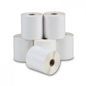 DIRECT THERMAL LABEL ROLL 100mm x 150mm WHITE 25mm Core (Box 6)